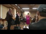 Ян Гэ и Леонсия Эрденко на репетиции Поединков (Голос-6)