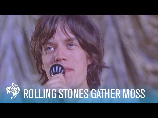 Rolling Stones Gather Moss (1964)   British Pathé