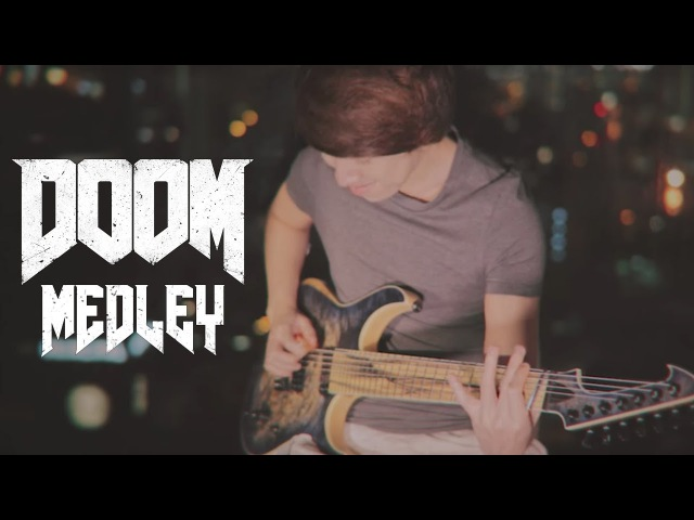 DOOM (2016) OST Medley - BFG Division and Rip Tear by Mick Gordon (Guitar Cover)