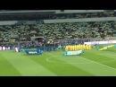 67 700 человек поют Гимн Украины Начало матча Украина Франция