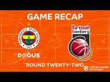 Highlights: Fenerbahce Dogus Istanbul - Brose Bamberg