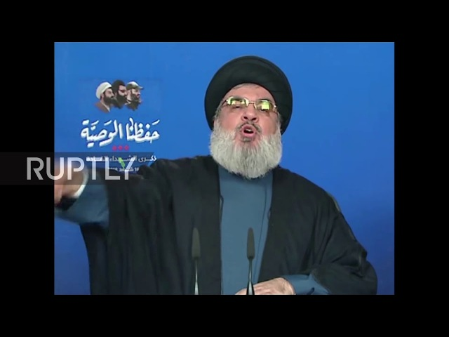 Lebanon: Hezbollah chief threatens Israel's offshore oil in TV address