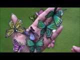 How to Make Paper Butterflies with EK Retro Punch by Archana Joshi ( Follow The Flower Friday)