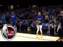 Stephen Curry warms up on the court pregame vs. the Cleveland Cavaliers | NBA on ESPN