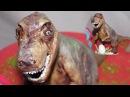 Диназавр из мастики / Dinosaur putty - Я - ТОРТодел!