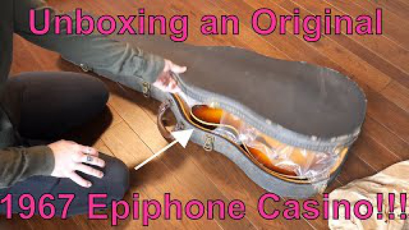 1967 Epiphone Casino Unboxing...FAIL!