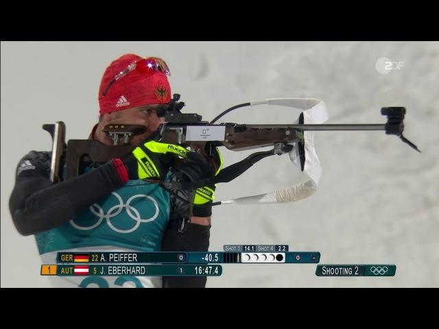 OG-2018. Arnd Peiffer - olympic champion in sprint