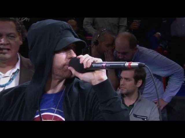 Detroit Pistons | Trending: Eminem Surprises LCA Crowd