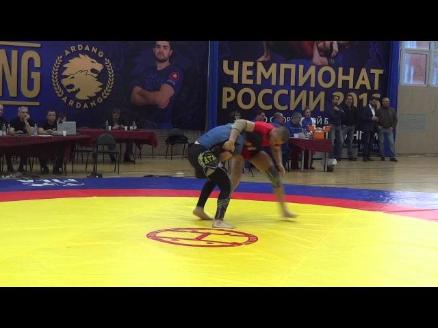 ЧР по Грепплингу Но Ги 2016 92 кг 1 8 финала Атабаев Беслан Багин Роман