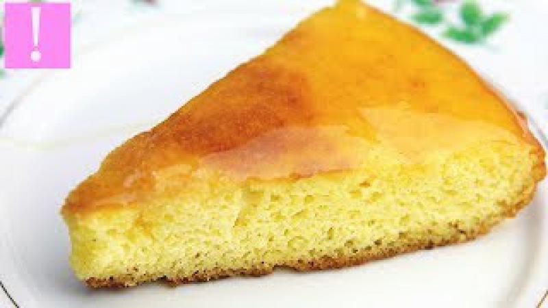 🔴 ПИРОГ НА СКОВОРОДЕ ЗА 10 МИНУТ Пирог на скорую руку из манки с медом и без сахара