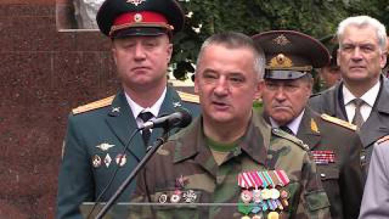 «БОЕВОЕ БРАТСТВО» провело памятные мероприятия в Московском высшем командном у...