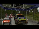 Dirt4 Ford Fiesta R5 Custom Wales stage with G29
