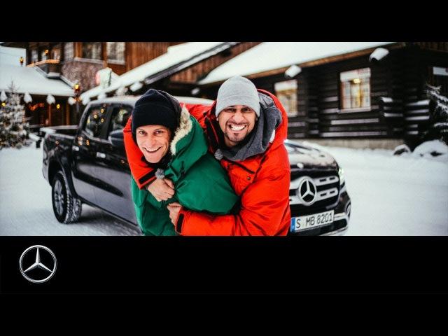 Новые санки для деда Мороза: Mercedes-Benz или Maverick X3 » Freewka.com - Смотреть онлайн в хорощем качестве