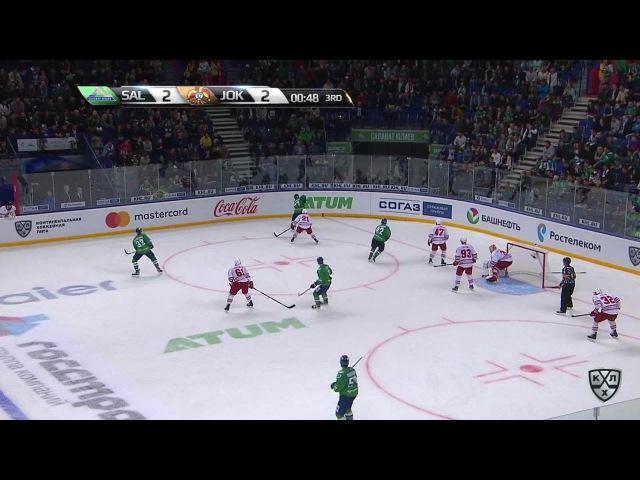 КХЛ (Континентальная хоккейная лига) - Моменты из матчей КХЛ сезона 16/17 - Гол. 2:3. Хухтала Томми