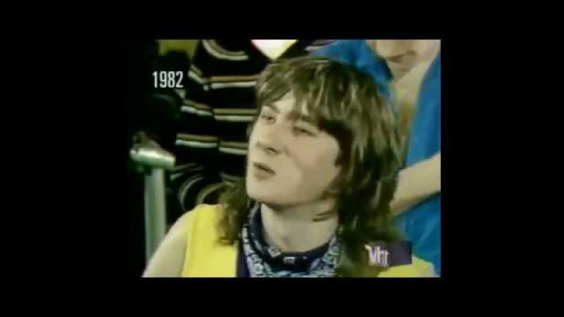 Def Leppard 1982 Interview clips