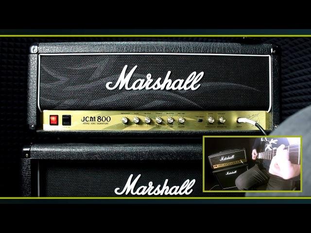 Ламповый гитарный усилитель Marshall JCM800 KK2203