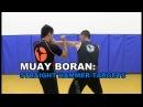 Lesson 46 Muay Boran Straight Hammer arm target