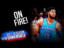 Paul George Full Highlights 2018 01 20 at Cavs 36 Pts in 3 Quarters On FiRE