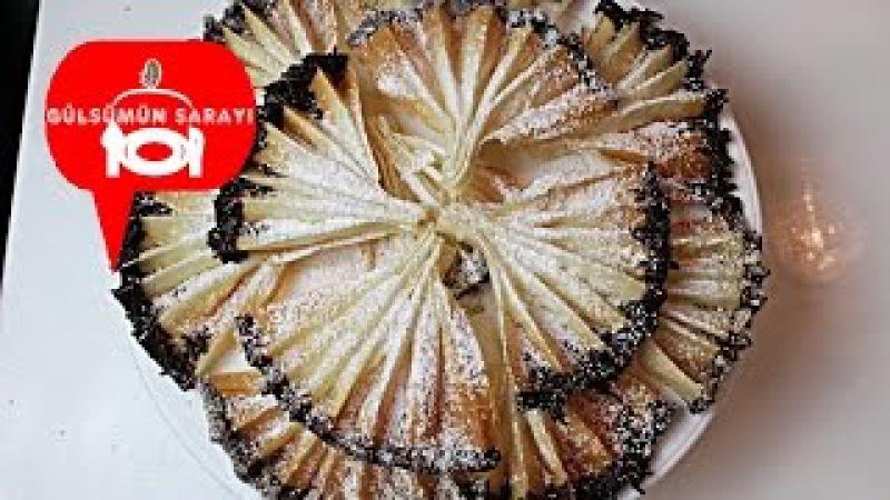 Yelpaze kurabiye / Cikolatali Yelpaze Kurabiye / kurabiye tarifi / Gülsümün Sarayi