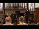 Maxim Kuzmin-Karavaev (bass): J.Brahms - Vier Ernste Gesange op.121