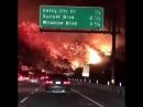 The scene in California is straight out of a Roland Emmerich film