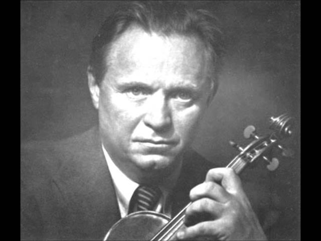 Adolf Busch - Bachs Violin Concerto in E Major [FULL CONCERTO]