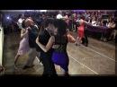 Competencia de baile de tango estilo libre, Yuyo Brujo, Montevideo, Uruguay