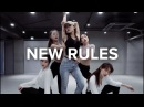 New Rules Dua Lipa Jin Lee Choreography
