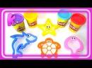 Учим цвета для самых маленьких видео. Пластилин Play Doh.