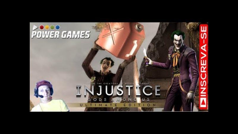 Injustice Gods Among Us PC Dublado PT BR GAME PLAY COM CORINGA