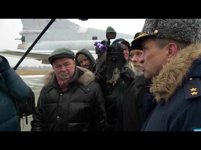 В Калужской области встретили вернувшиеся из Сирии экипажи Ту 22М3