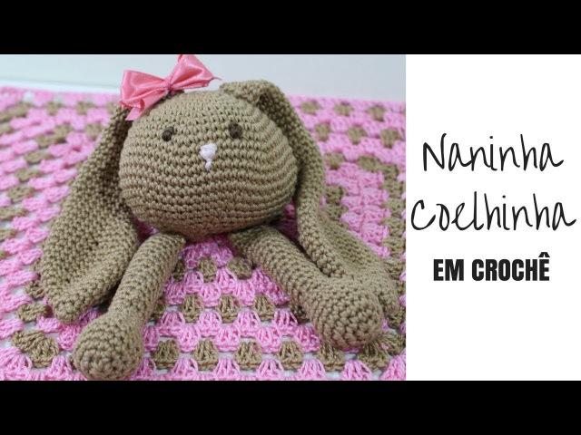 NANINHA COELHINHA EM CROCHÊ/DIANE GONÇALVES