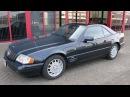 751217 MERCEDES SL600 R129 AUT 6 0L V12 ROADSTER 04 98 BLACK W HARDTOP LHD