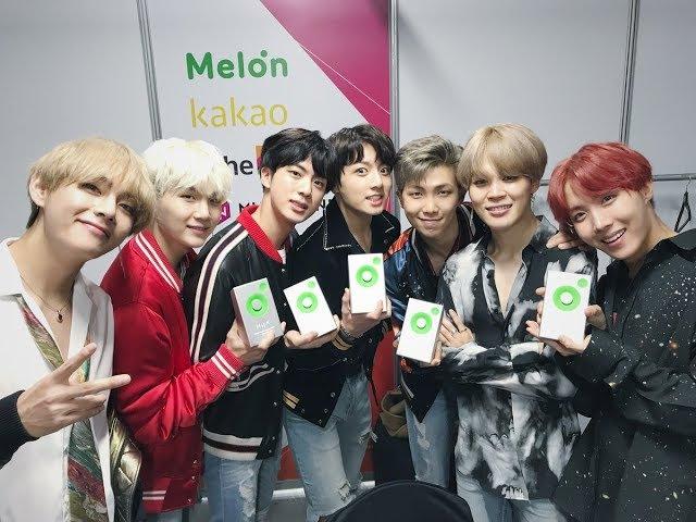 [Live]Melon171202 防彈少年團BTS 獲獎34920;演CUT
