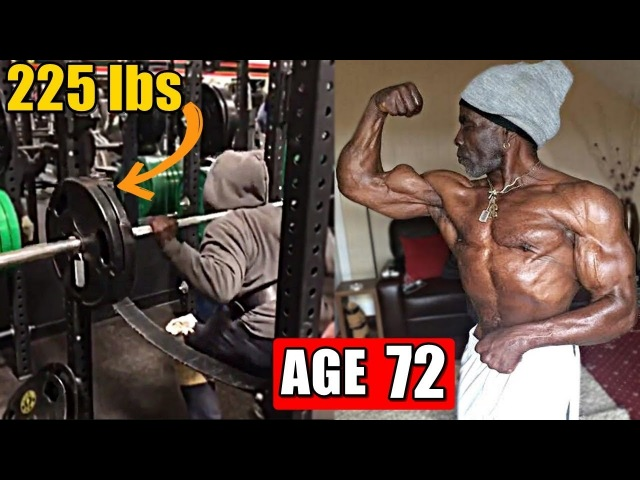 Robby Robinson At Age 72 Still Works Out Still Has a Aesthetic Physique