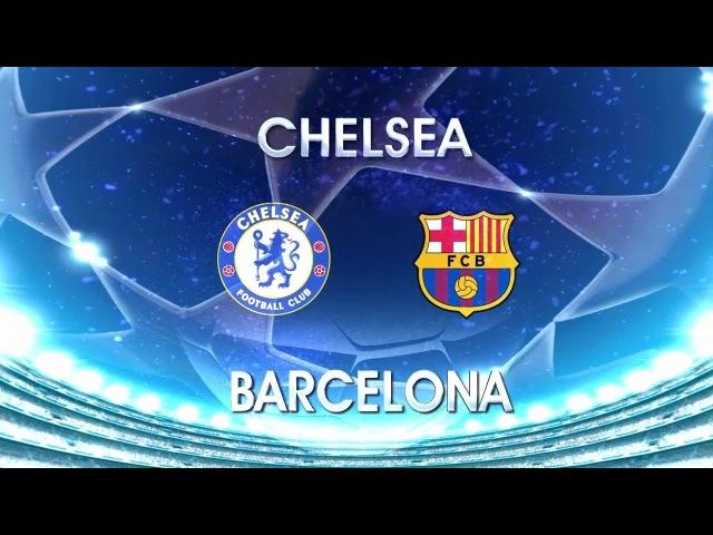 Chamada: UCL 2017/18 - OF - Ida - Chelsea x Barcelona - Globo (20/02/2018)
