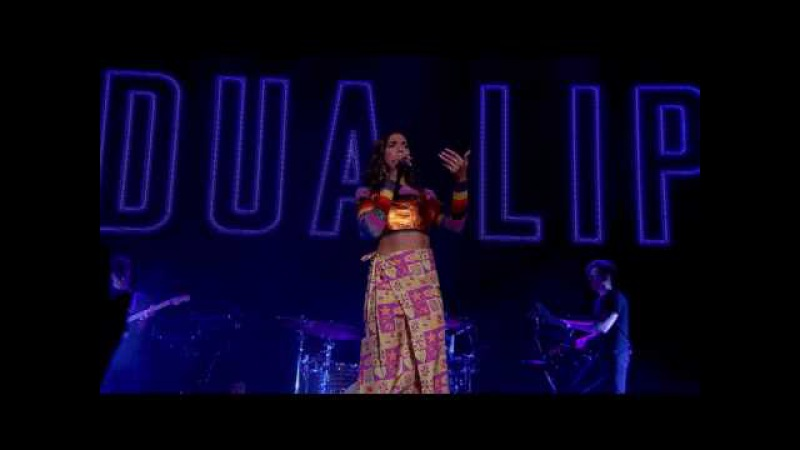 Dua Lipa Be The One Live from the NME Awards 2017