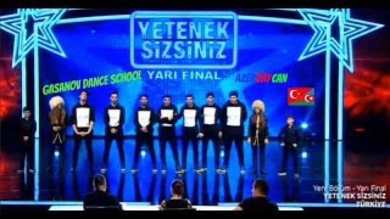Ramil Qasanov Yetenek Sizsiniz Turkiye Yari Final Lezginka-Gasanov Dance School