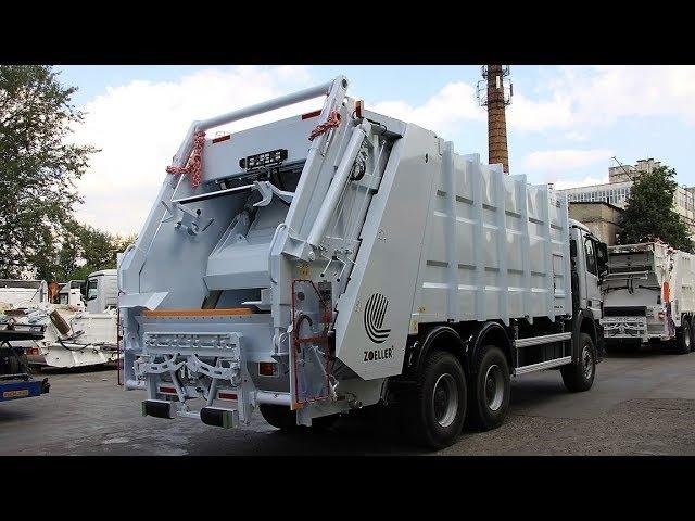 MEDIUM-XL-24 (аналоги КО-427-90, OMB-XL-24) - мусоровоз ЗЗ, 24 м.куб., на шасси SCANIA-P360