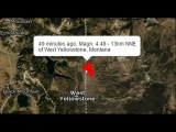 HEADS UP! Yellowstone Super Volcano Hit with 4.5M Earthquake