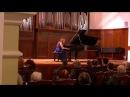 РАХМАНИНОВ: Концерт кафедры Воскресенского - ОЛЬГА ИВАНОВА, фортепиано
