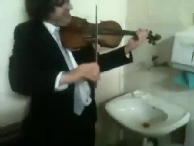Дуэт Скрипач и Кран · coub, коуб