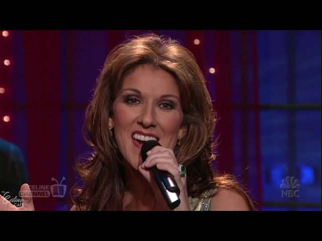 Céline Dion - In Some Small Way (Jay Leno, 2004) HD