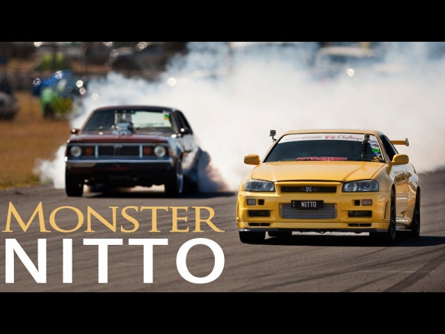 Nissan Skyline R34 GTR- ft. 1100awhp Monster NITTO