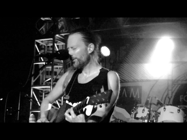 Atoms For Peace - The Present Tense ( front row ) - Live @ Club Amok 6-14-13 in HD