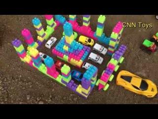 Kids toy videos | Police car | Build police station | car videos for kids | CNN Toys