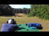 .460 Smith and Wesson at 200 yards.