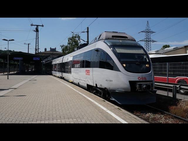ÖBB 4024 130 ,,Karrierezug als S45 | Wien Hütteldorf [4k]