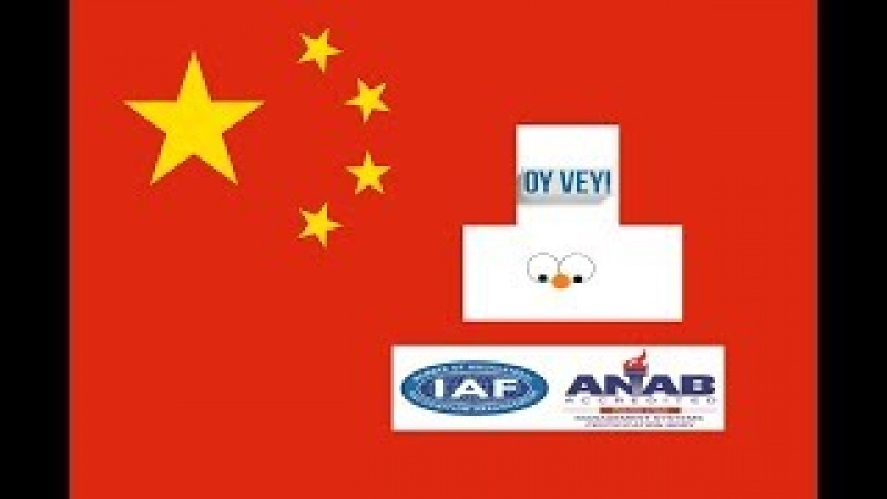 Inconsistencies In ISO,AS,IATF- ANAB Registrars Overseen By China-led IAF North Korea Ally