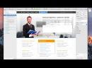Видео 11 Верстка макета и создание структуры сайта